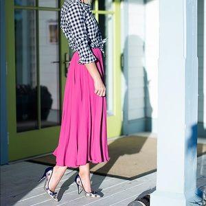 Rachel Parcel pleated skirt